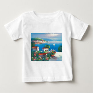 Painting Of An Italian Village Baby T-Shirt