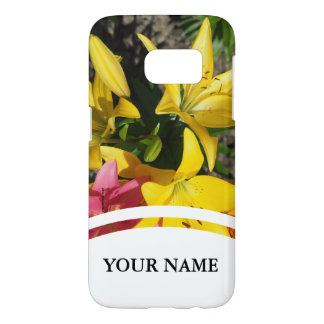 Painting of flowers samsung galaxy s7 case