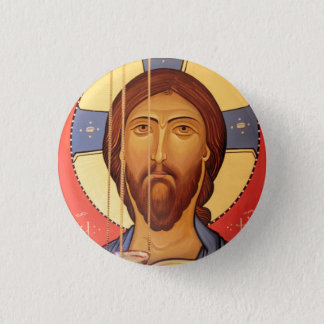 Painting Of Jesus 1 Inch Round Button