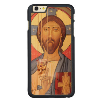 Painting Of Jesus Carved Maple iPhone 6 Plus Case