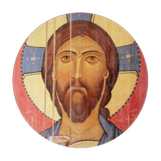 Painting Of Jesus Cutting Board
