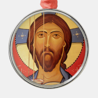 Painting Of Jesus Metal Ornament
