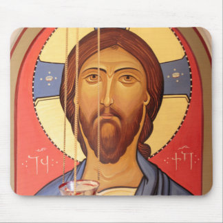 Painting Of Jesus Mouse Pad