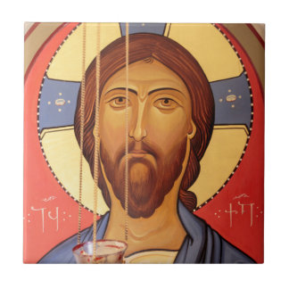 Painting Of Jesus Tile