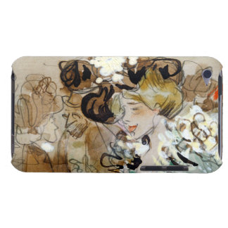 """Painting of Ramon Houses """"Celebrations in Toulon Barely There iPod Case"""