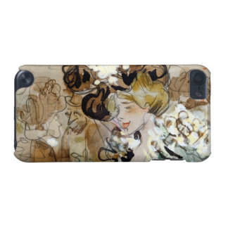 """Painting of Ramon Houses """"Celebrations in Toulon iPod Touch 5G Case"""