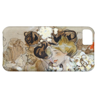 "Painting of Ramon Houses ""Celebrations in Toulon "" iPhone 5C Case"