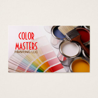 Painting, Painter , Construction ,Business Card
