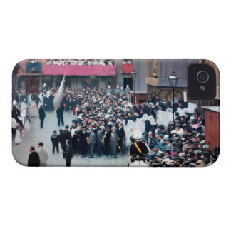 Painting Procession of Corpus Christi Ramon Houses iPhone 4 Case-Mate Cases
