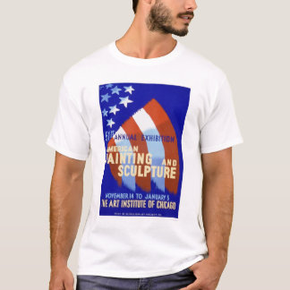 Painting & Sculpture 1937 WPA T-Shirt