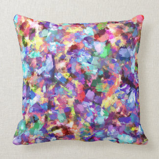 Painting With Color Throw Pillow
