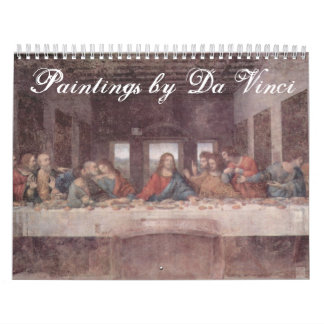 Paintings by Leonardo Da Vinci Calendar