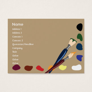Paints - Chubby Business Card