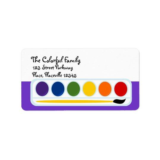 Paints Label