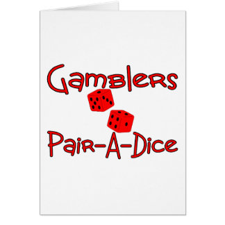 Pair-A-Dice Card
