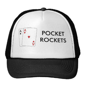 pair of aces1, POCKETROCKETS Trucker Hat