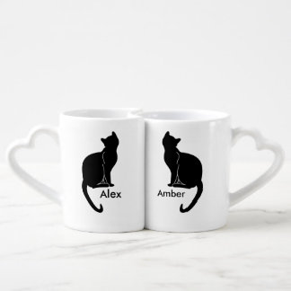 Pair of cats love mug