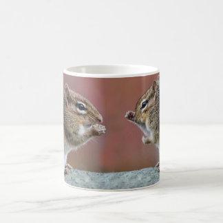 Pair of Chipmunks Coffee Mug