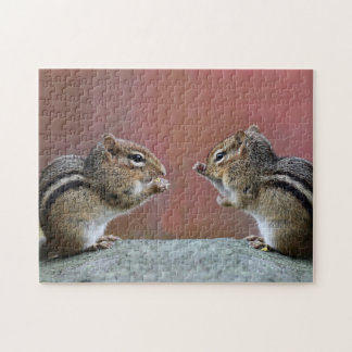 Pair of Chipmunks Jigsaw Puzzle