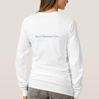 Pair of Cranes Peace Harmony Love T-Shirt # 2