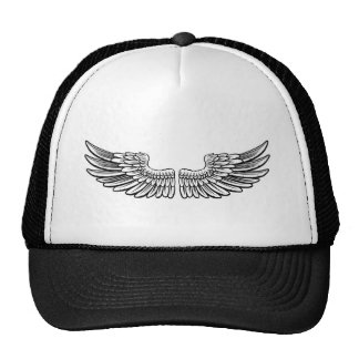 Pair of Etched Wings Trucker Hat