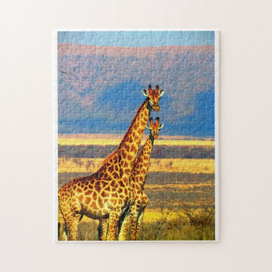 Pair of Giraffes. Jigsaw Puzzle