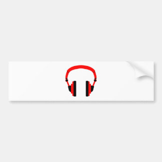 Pair Of Headphones Bumper Sticker