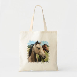 Pair of Horses Small Canvas Bag