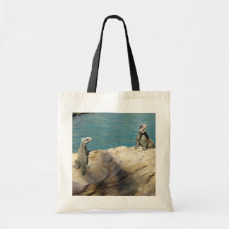 Pair of Iguanas Tropical Wildlife Photography Tote Bag
