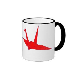 Pair of origami Cranes Mug
