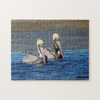 Pair of Pelicans Jigsaw Puzzle