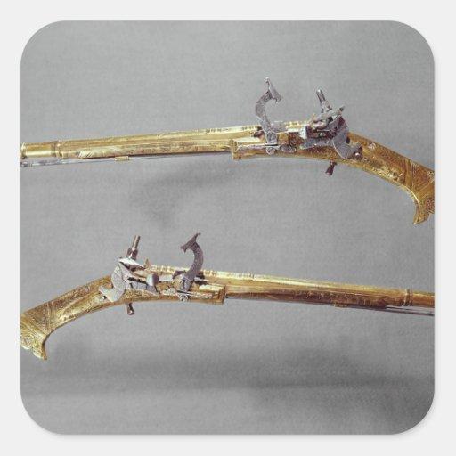 Pair of pistols, 1624-26 sticker