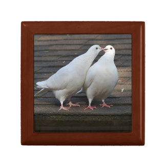 Pair of White Doves Gift Box