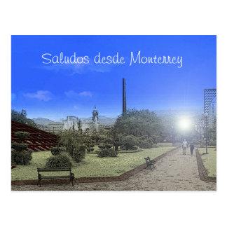 Paisaje Monterrey Postcard