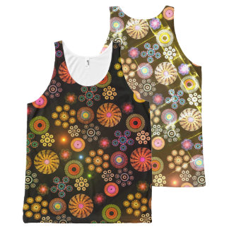 Paisley All-Over-Print Tank Top