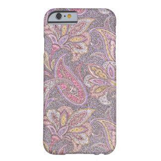 Paisley and flowers pattern barely there iPhone 6 case