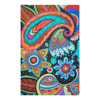 Paisley Art image products items Stationery Design