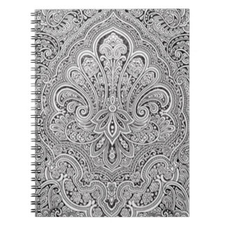 Paisley Art Spiral Notebook