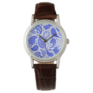 Paisley Blue Fashion Watch by Julie Everhart
