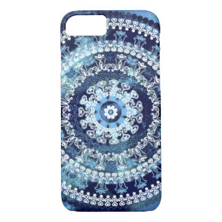 Paisley Blue Mandala iPhone 7 Case