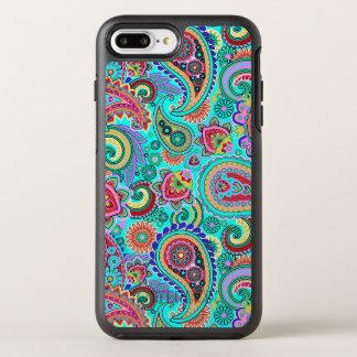 Paisley Bright Colors OtterBox Symmetry iPhone 8 Plus/7 Plus Case