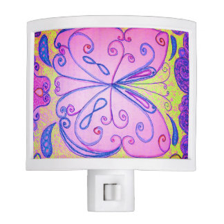 Paisley Butterfly night light
