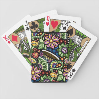 Paisley Cafe Bicycle Playing Cards