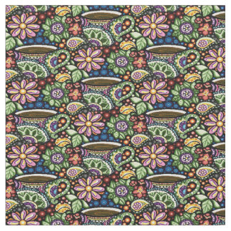 Paisley Cafe Fabric