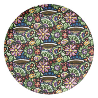 Paisley Cafe Plate