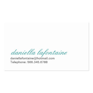 Paisley Calling Cards Pack Of Standard Business Cards