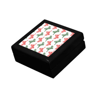 Paisley Christmas Stockings Gift Box