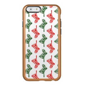 Paisley Christmas Stockings Incipio Feather® Shine iPhone 6 Case