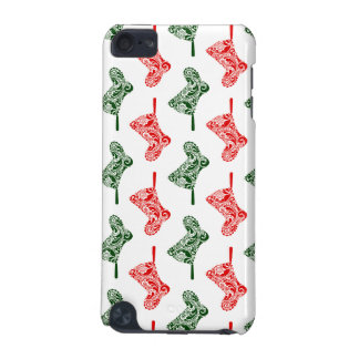 Paisley Christmas Stockings iPod Touch 5G Covers