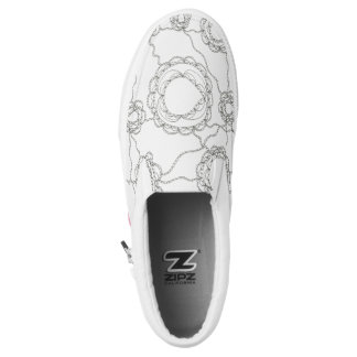 Paisley Color It Yourself Slip-On Sneakers